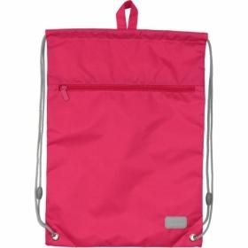 Сумка для обуви с карманом KITE Education Smart, розовая