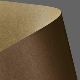 Картон дизайнерский двусторонний Galeria Papieru Kraft 275 г/м2, 20 шт, коричневый