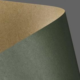Картон дизайнерский двусторонний Galeria Papieru Kraft 275 м2, 20 шт, зеленый