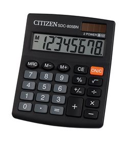 Калькулятор Citizen SDC-805BN, 8 разрядов