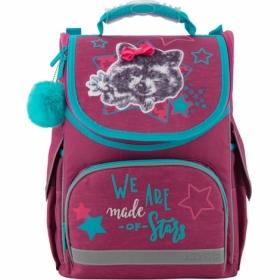 Ранец школьный KITE Education 501-3 Fluffy racoon