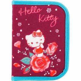 Пенал жесткий КІТЕ Education Hello Kitty, 1 отделение, 1 отворот