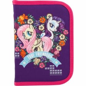 Пенал жесткий КІТЕ Education My Little Pony, 1 отделение, 1 отворот