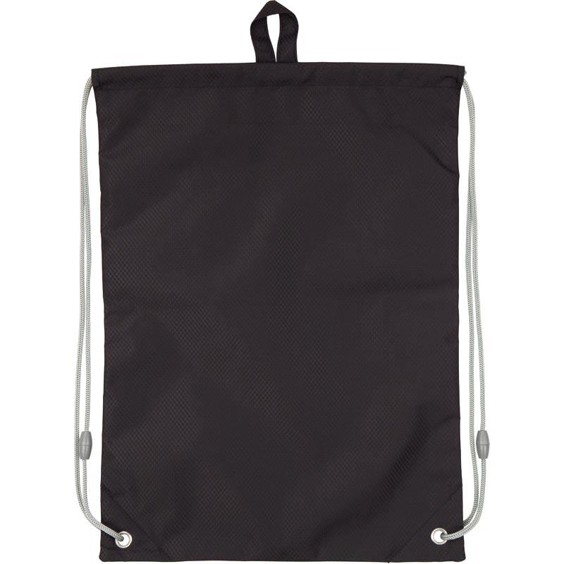 Сумка для обуви с карманом KITE Education Smart, черная - №4