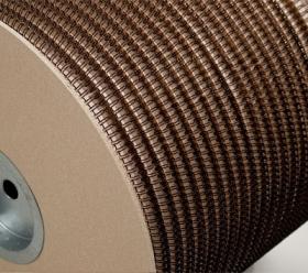 Металлическая пружина в бобине LIGHT 6.4 мм, 84 000 петель, 3:1 черная