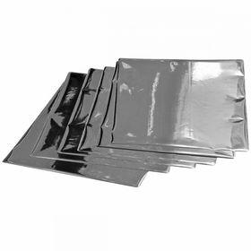 Фольга А4 №01, яркое серебро, 100 шт
