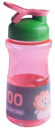 Бутылочка для воды ZIBI KIDS Line 500 мл, коралловая