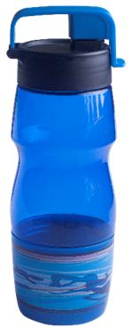 Бутылочка для воды ZIBI KIDS Line 600 мл, синяя