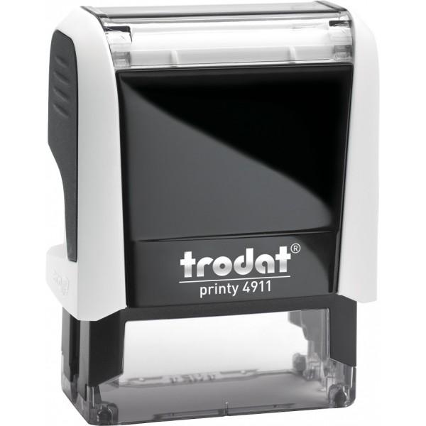 Штамп с бухгалтерскими терминамиTrodat 49114 мм, Укр, белый