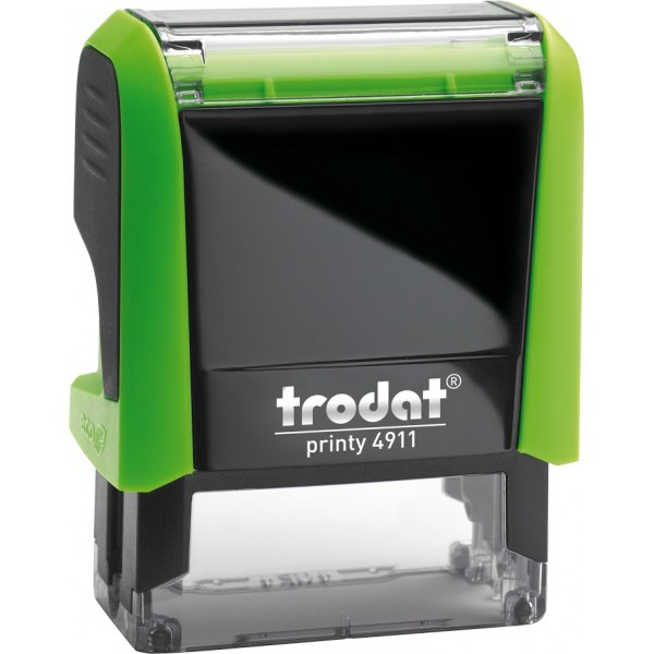 Штамп с бухгалтерскими терминамиTrodat 49114 мм, Укр, зеленый