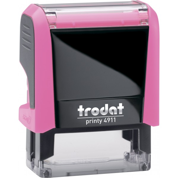 Штамп с бухгалтерскими терминамиTrodat 49114 мм, Укр, розовый