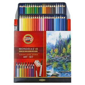 Карандаши цветные акварельные Koh-i-Noor Mondeluz, 48 цветов