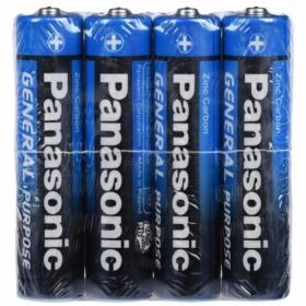 Батарейка Panasonic GENERAL PURPOSE ZINK-CARBON LR3 (АAA)