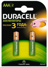 Акумулятор DURACELL AAA, 2 шт
