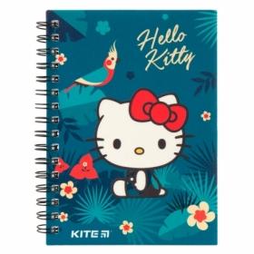 Блокнот KITE Hello Kitty А6, 80 листов, клетка