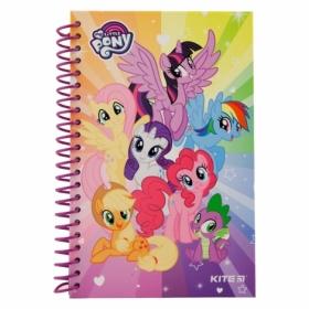 Блокнот KITE My Little Pony А5, 80 листов, без линовки
