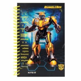 Блокнот KITE Transformers BumbleBee Movie А5, 80 листов, без линовки
