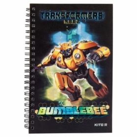 Блокнот KITE Transformers BumbleBee Movie А5, 80 листов, клетка