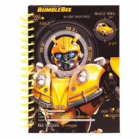 Блокнот KITE Transformers BumbleBee Movie А6, 80 листов, без линовки