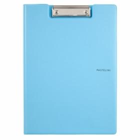 Папка-планшет Axent Pastelini А4, винил, голубая