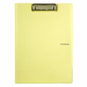 Папка-планшет Axent Pastelini А4, винил, желтая