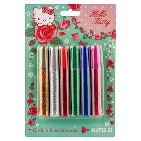 Клей с блестками KITE Hello Kitty 10 мл, 6 цветов