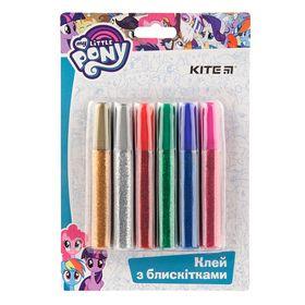 Клей с блестками KITE My Little Pony 10 мл, 6 цветов
