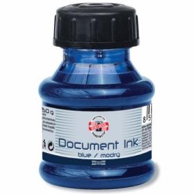 Чернила для документов Koh-i-Noor, 50 мл, синие