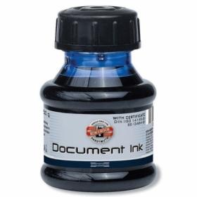 Чернила для документов Koh-i-Noor, 50 мл, черные