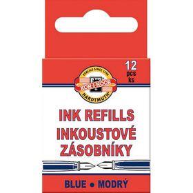 Капсулы с чернилами Koh-i-Noor, 12 шт, синие