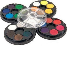 Краски акварельные Koh-i-Noor без кисти, 24 цвета