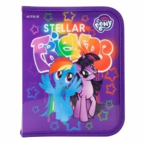 Папка для тетрадей на молнии КІТЕ My Little Pony В5