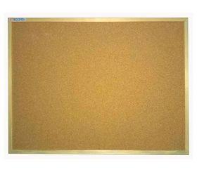 Доска пробковая UkrBoards Wood  90х120 см