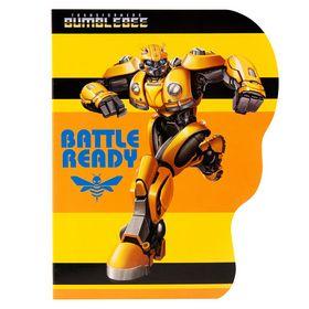 Блокнот KITE Transformers BumbleBee Movie А6, 60 листов, клетка