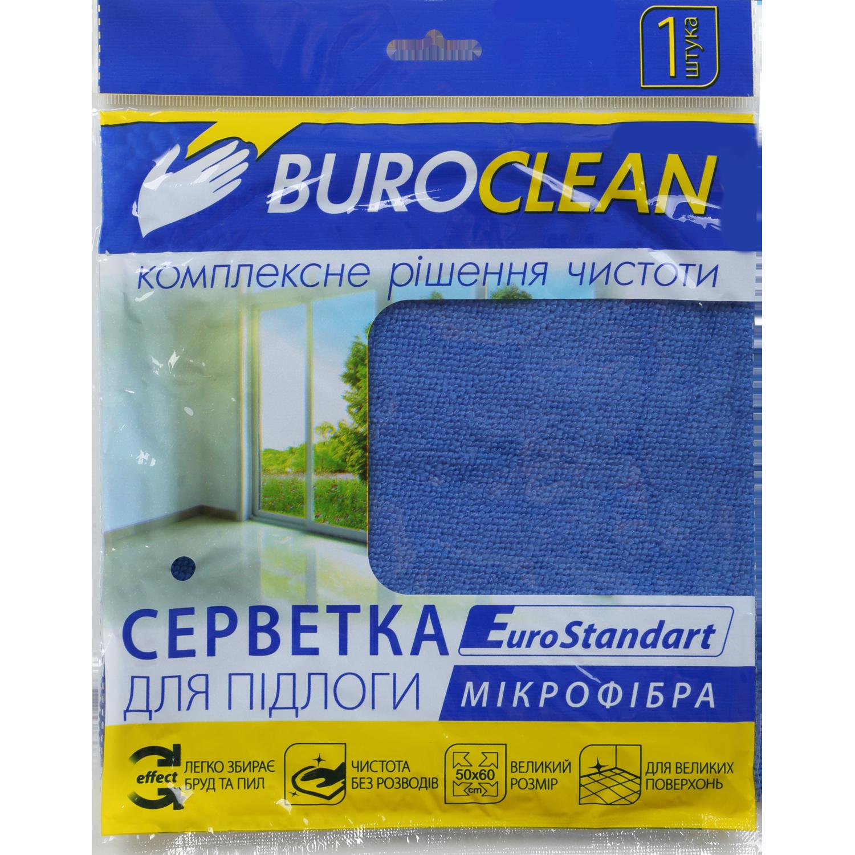 Салфетка BuroClean EuroStandart микрофибра для пола