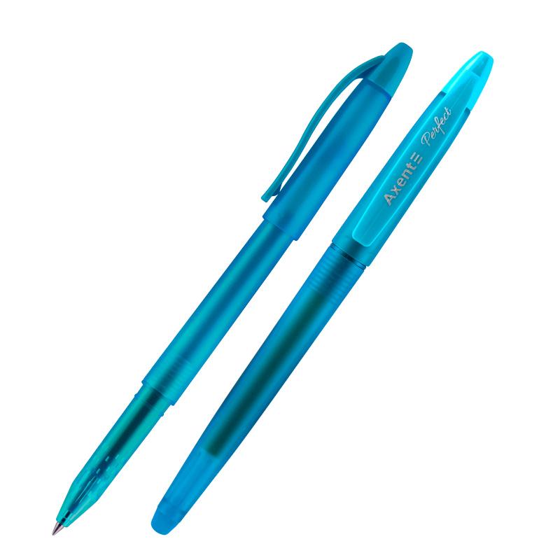 "Ручка гелевая ""пиши-стирай"" Axent Perfect 0.5 мм, бирюзовая"