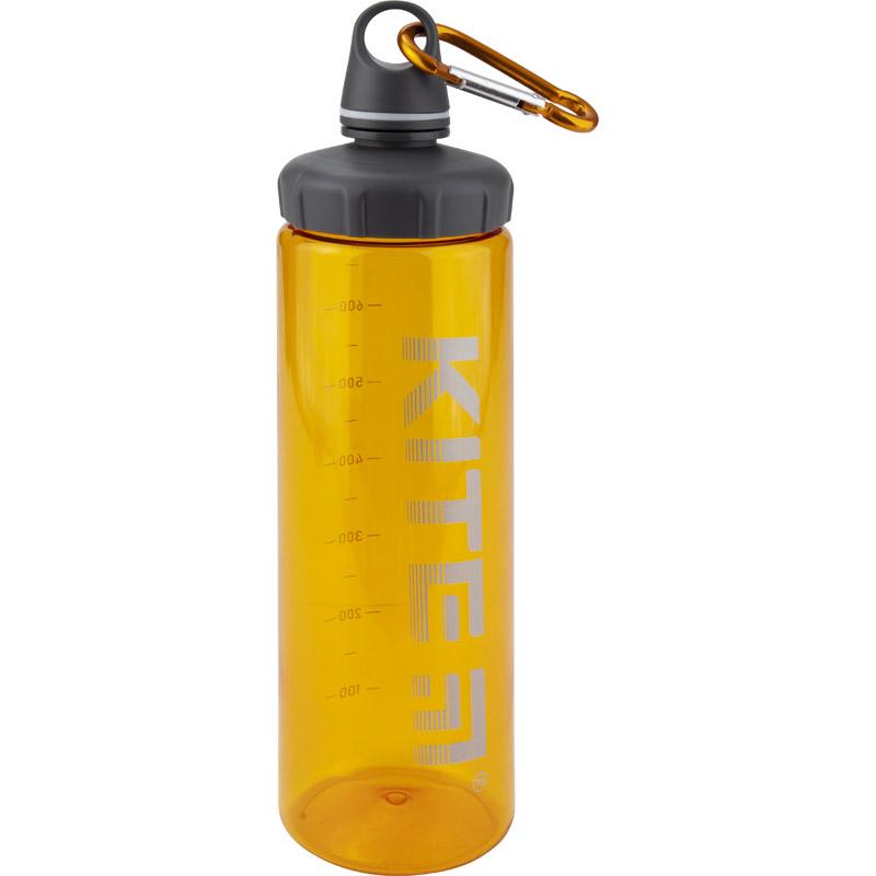 Бутылочка для воды KITE 750 мл, оранжевая