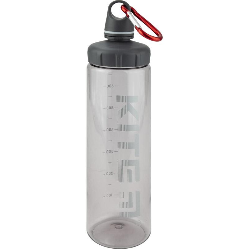 Бутылочка для воды KITE 750 мл, серая