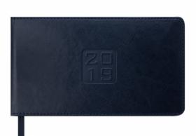 Еженедельник датированный 2020 Buromax Карманный BRAVO, черный, 9.5х17 см