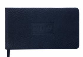 Еженедельник датированный 2020 Buromax Карманный AMAZONIA, черный, 9.5х17 см