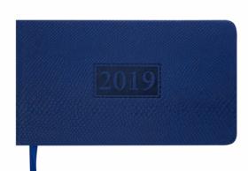 Еженедельник датированный 2020 Buromax Карманный AMAZONIA, синий, 9.5х17 см