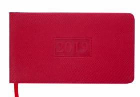 Еженедельник датированный 2020 Buromax Карманный AMAZONIA, красный, 9.5х17 см