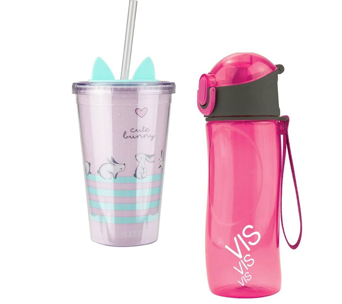 Бутылочки и стаканы для воды