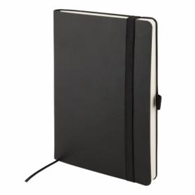 Еженедельник полудатированный Axent Partner Flex 12.5х19.5 см, черный