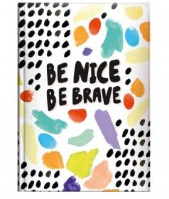 Ежедневник недатированный Brunnen Агенда Графо А5, Be brave BBH