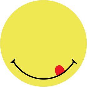 Бумага для заметок Axent Smile 70х70 мм, 50 листов, с клейким слоем, желтая