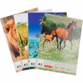 Альбом для рисования Brunnen А3, 20 листов