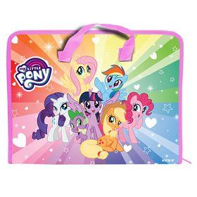Пластиковый портфель KITE My Little Pony А4, 1 отделение