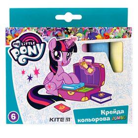 Мел цветной KITE My Little Pony Jumbo, 6 шт
