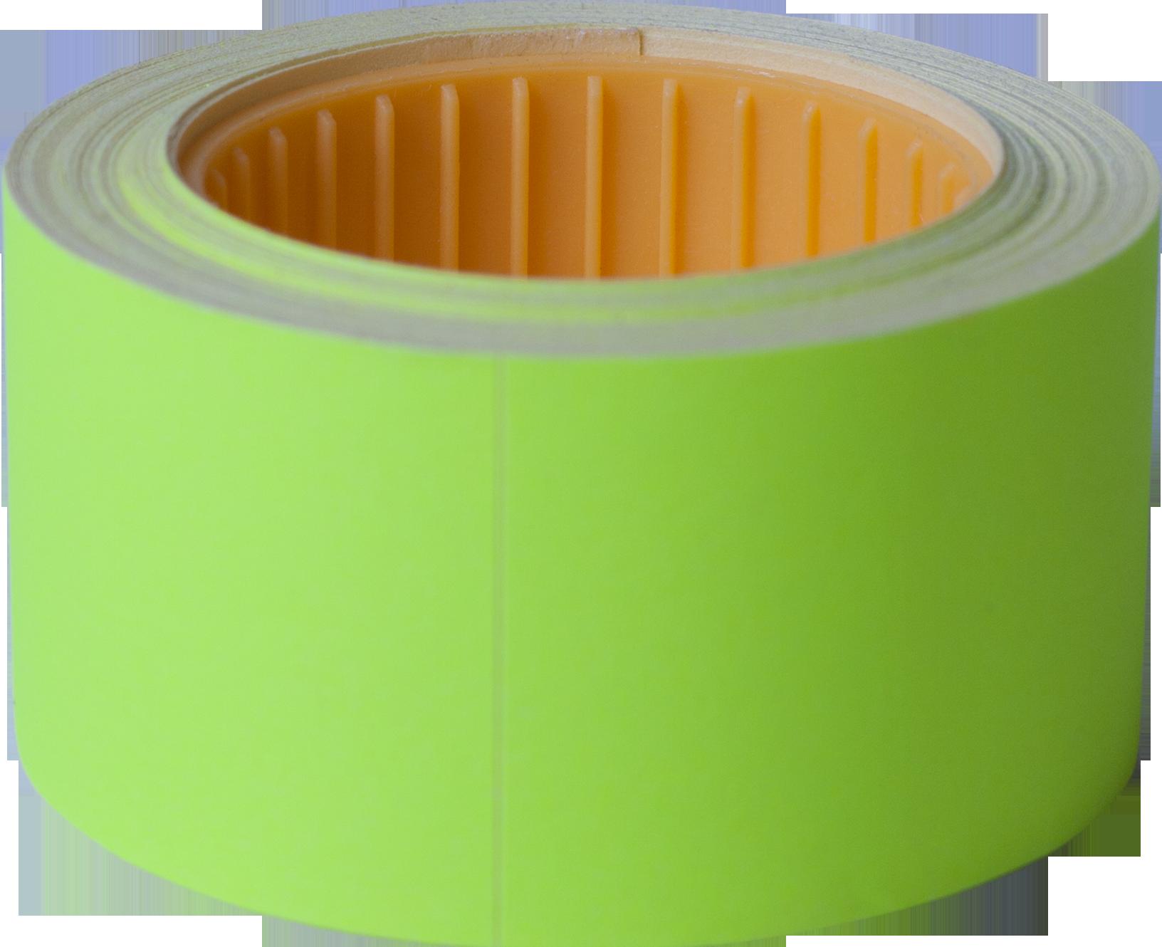 Ценник прямоугольный Buromax30х40 мм, 150 шт,желтый